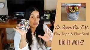 Flex Tape Flex Seal Does It Work YouTube