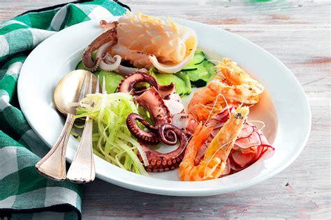 pesci cucina ricetta tris di pesci e verdure la cucina italiana