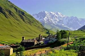 Hike from Ushguli to the Shkhara glacier
