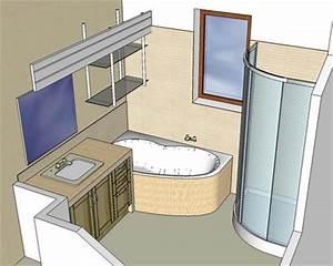 Plan 3d Salle De Bain Gratuit : visu 3d salle de bain forum logiciels d 39 architecture syst me d ~ Melissatoandfro.com Idées de Décoration