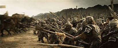 Charge Cavalry Rings Lord History Rohirrim Physics