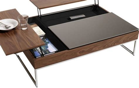 coffee table with hidden storage coffee table with hidden storage space by bo concept