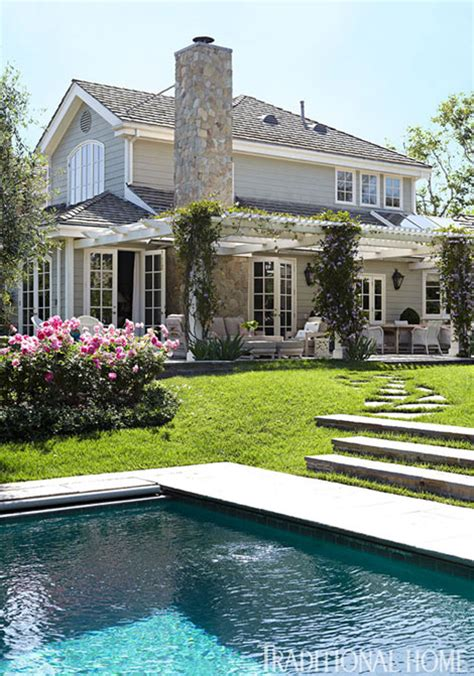 A Home & A Backyard Like This  The Traditional Elegance