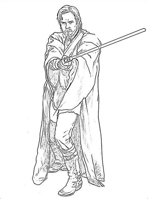 obi-wan-kenobi-coloring-pages | Coloring pages, Star wars