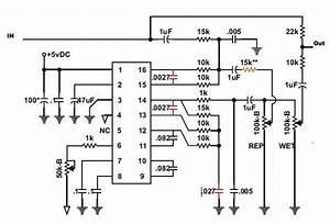 pt2399 delay schematic wiring diagrams wiring diagram With pt2399 easy to build echo delay circuit with a pt2399 digital delay ic
