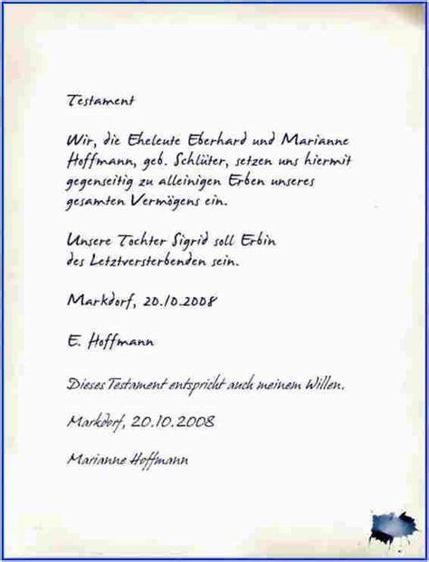 berliner testament vorlage kostenlos   testament