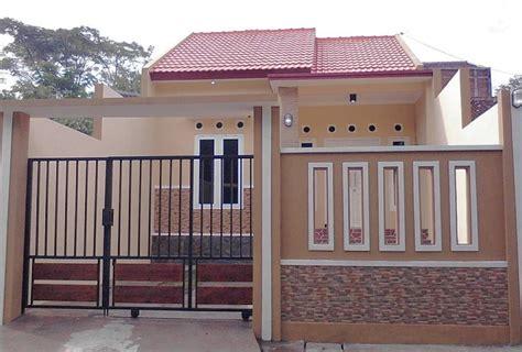 warna cat pagar minimalis terbaru model rumah