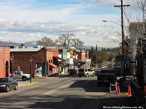 Downtown Jacksonville, Oregon.