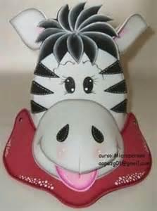 visera cebra gorras en foamy zebra mask y animals