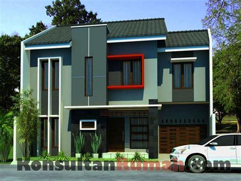 gambar rumah minimalis atap sebelah