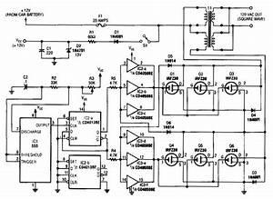 Simple 250w Inverter Circuit Diagram