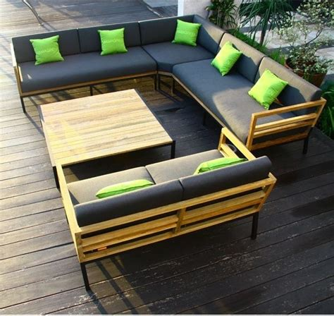 outdoor seating sectional sofa zudu teak outdoor sectional seating outdoor sofas