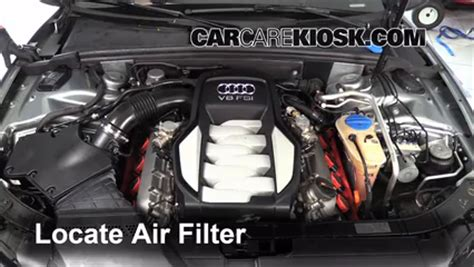 how do cars engines work 2010 audi s5 engine control 2008 2017 audi s5 engine air filter check 2008 audi s5 4 2l v8