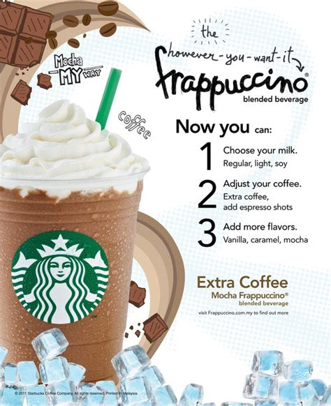 Starbucks Malaysia ?However You Want It? Frappuccino