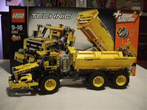 lego technic  hauler tough flatbed truck youtube