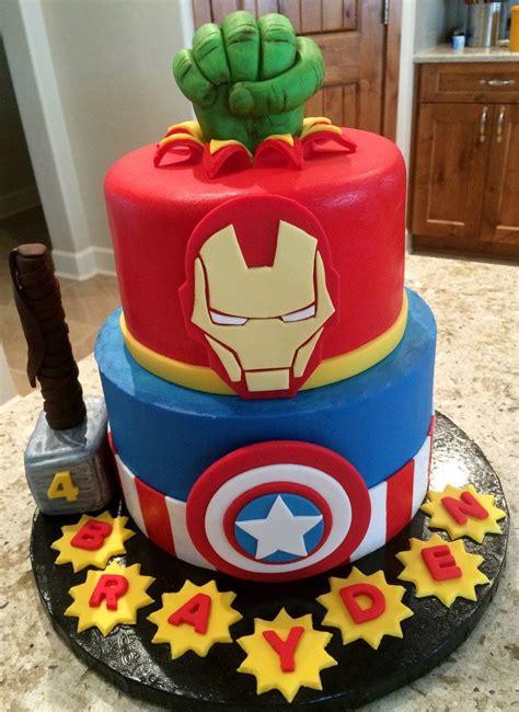 Send marvel avengers birthday cake across uae with express delivery. Avenger Cake | Avenger birthday party, Marvel birthday ...