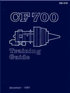 General Electric Ge Cf700 Turbofan Aircraft Engine