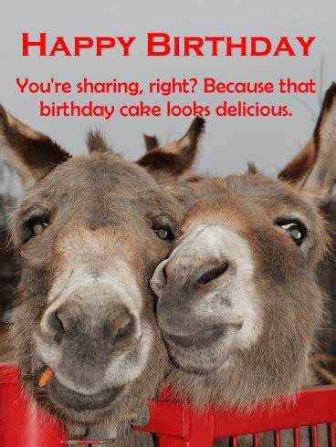 smiles  piece  cake funny birthday card birthday