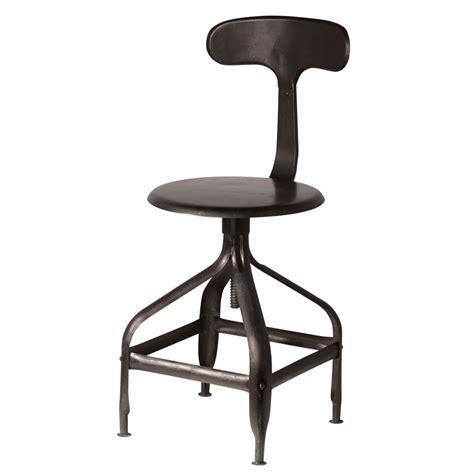 chaises style industriel chaise indus télégraphe maisons du monde