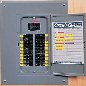 circuit breaker identification labels from sporty39s With electrical panel identification labels