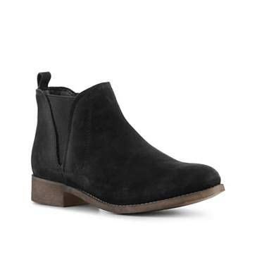 ankle boots booties boots womens shoes black flat