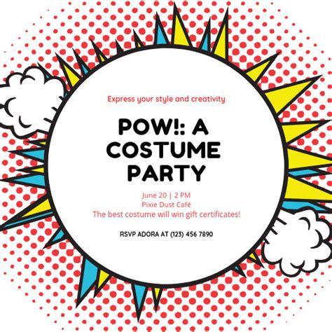 customize  superhero invitation templates  canva