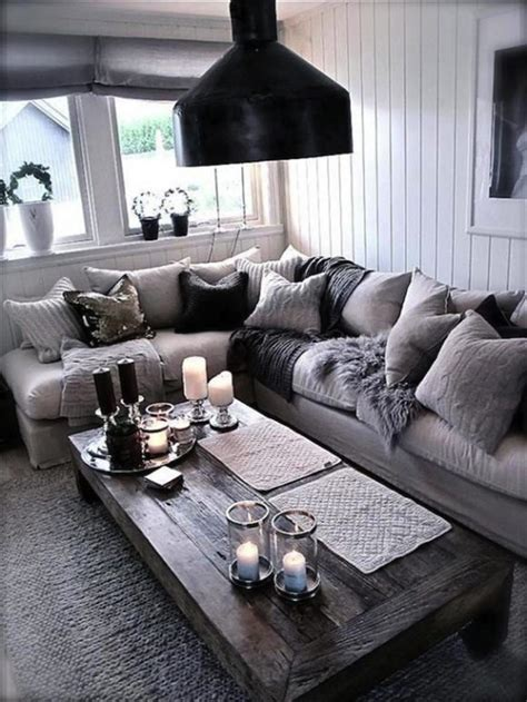 Living Room Designs Grey And Black by 29 Beautiful Black And Silver Living Room Ideas To Inspire