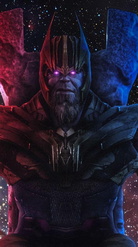 wallpaper thanos infinity gauntlet avengers  hd