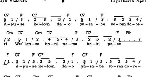 not angka lagu tetap dalam jiwa not angka pianika lagu apuse