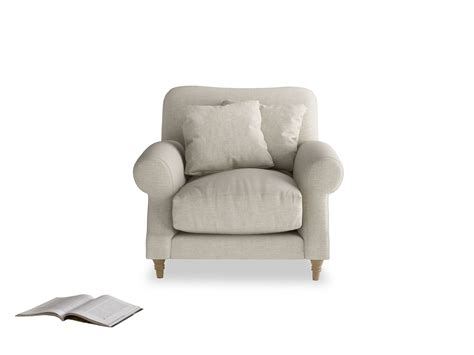Armchair With Curved Arms