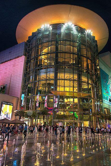 Siam Paragon Shopping Mall Bangkok Thailand