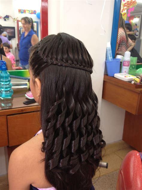 hermoso  sencillo peinado braids peinados  ninas