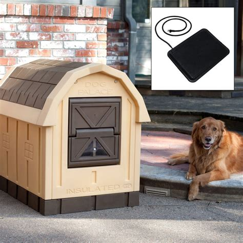 dog palace dog house  floor heater insulated dog house dog house diy cool dog houses