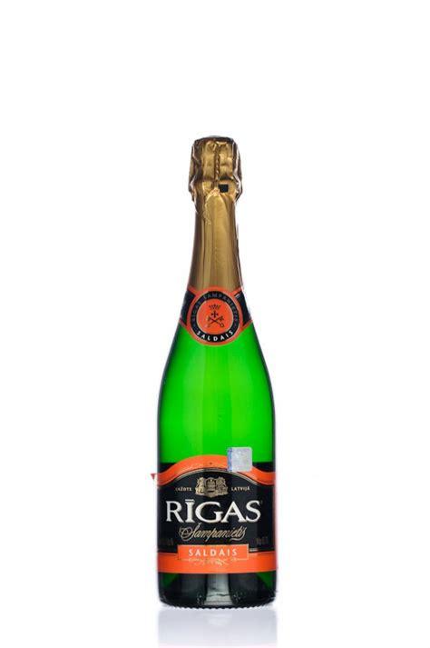 Rīgas Šampanietis Saldais - Dzirkstošais vīns - Spirits & Wine