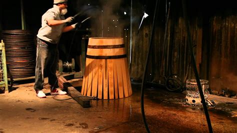 how to make a barrel winemaking making barrels for cabernet sauvignon wine aging a cooperage demonstration in