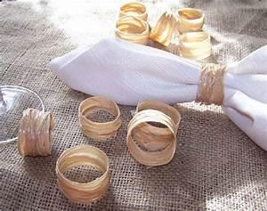 Rond De Serviette à Faire Soi Même : ronds de serviette sont facile a faire soi meme ~ Nature-et-papiers.com Idées de Décoration