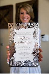 gorgeous wedding programs by ceci new york photography With laser cut wedding invitations nyc