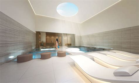 wellness spa interior design spa architecture  story