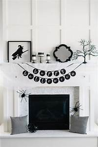 black and white decorations 70 Ideas For Elegant Black And White Halloween Decor ...
