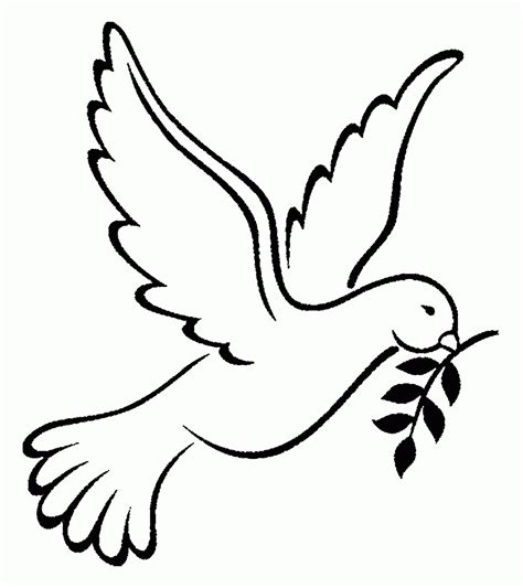 Dove Coloring Page Turtle Doves Coloring Pages Coloring Home