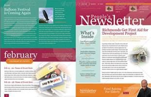 newsletter designer 4 pages newsletter template metroeast design inspiration newsletter templates