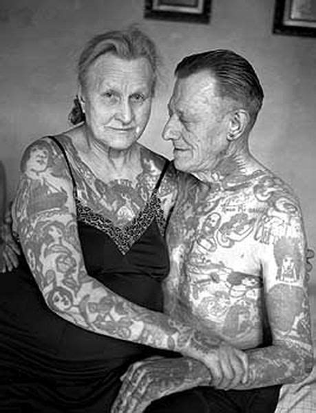 22 Tattooed Seniors, What They Really Look Like! | Fashion, Beauty, and Hair | Tattoos, Old