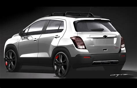 Chevrolet Trax Modification by Chevrolet Trax Line Series Concept Sema 2015 Gm