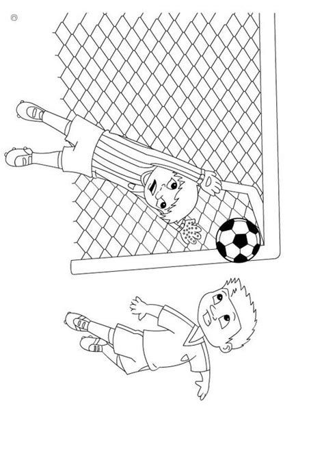Goal Kleurplaat by Kleurplaat Goal Afb 26142