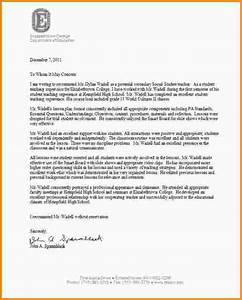 9 letter of recommendation for student teacher mac With recommendation letter for student from teacher template