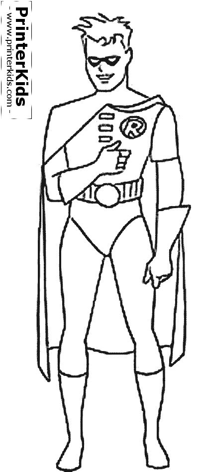 Batman And Robin Coloring Pages Coloring Pages For Batman
