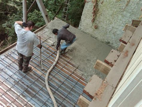 corrugated steel decking for concrete river construction 152 high trail vista circle