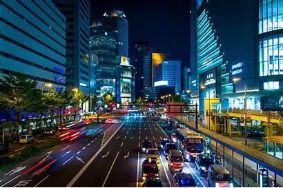 Osaka Japan Night Street 4k Wallpapers Wall