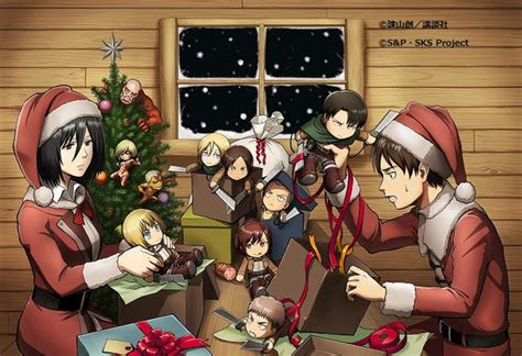 Crunchyroll Its A New Squad Levi Christmas In Attack