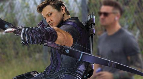 Avengers Hawkeye Unrecognizable New Set Photos